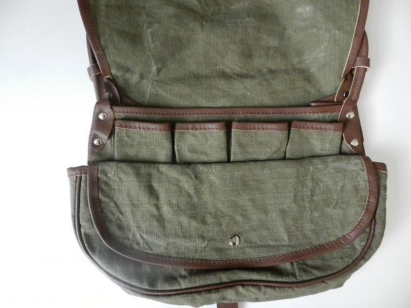 SQUAT original reproduction hunting bag with vintage linen_f0226051_12162080.jpg