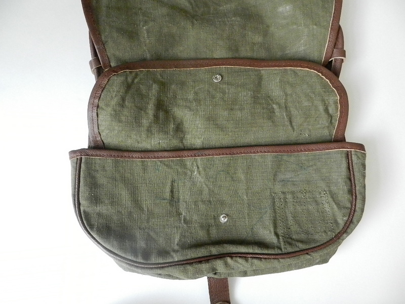 SQUAT original reproduction hunting bag with vintage linen_f0226051_12164363.jpg