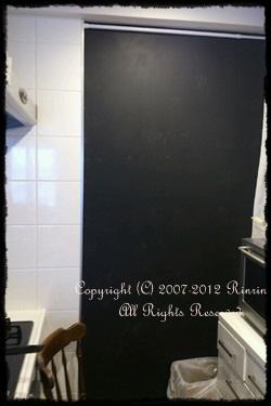 キッチンに黒板♡_e0237680_17215347.jpg