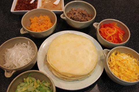 野菜たっぷり、韓国風クレープ_a0223786_15334368.jpg
