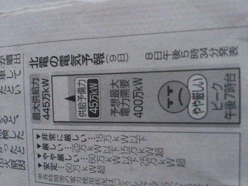 北海道電力の電気予報_b0106766_9345745.jpg
