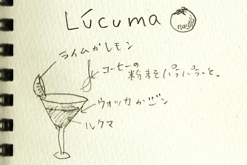 ルクマカクテルのアイデア by 斎藤奈津子先生