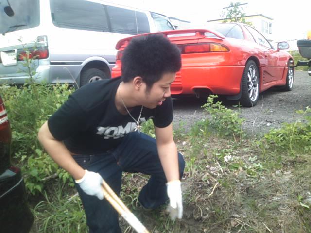 ムーミン(^o^)草刈りまさお_b0127002_1513477.jpg