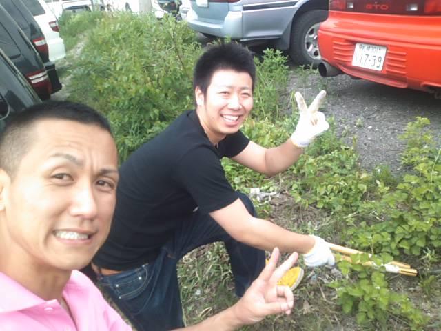 ムーミン(^o^)草刈りまさお_b0127002_1513491.jpg