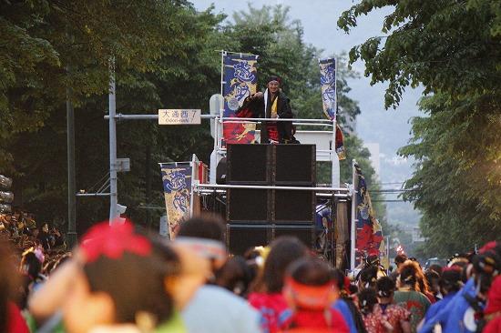 """""""YOSAKOIソーラン祭り""""公式応援隊長の遊助、YOSAKOIオールスターズと祭りを盛り上げ_e0197970_23152551.jpg"""
