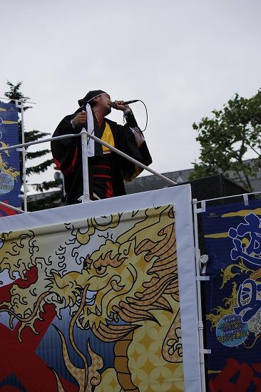 """""""YOSAKOIソーラン祭り""""公式応援隊長の遊助、YOSAKOIオールスターズと祭りを盛り上げ_e0197970_23153270.jpg"""