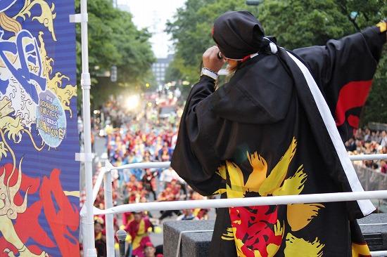 """""""YOSAKOIソーラン祭り""""公式応援隊長の遊助、YOSAKOIオールスターズと祭りを盛り上げ_e0197970_23154652.jpg"""
