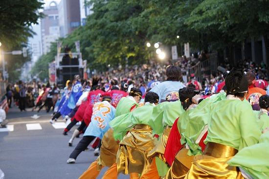 """""""YOSAKOIソーラン祭り""""公式応援隊長の遊助、YOSAKOIオールスターズと祭りを盛り上げ_e0197970_2316011.jpg"""