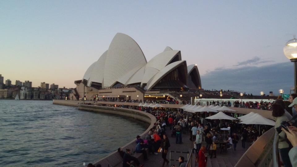 シドニーにやってきました!_c0029779_1224491.jpg