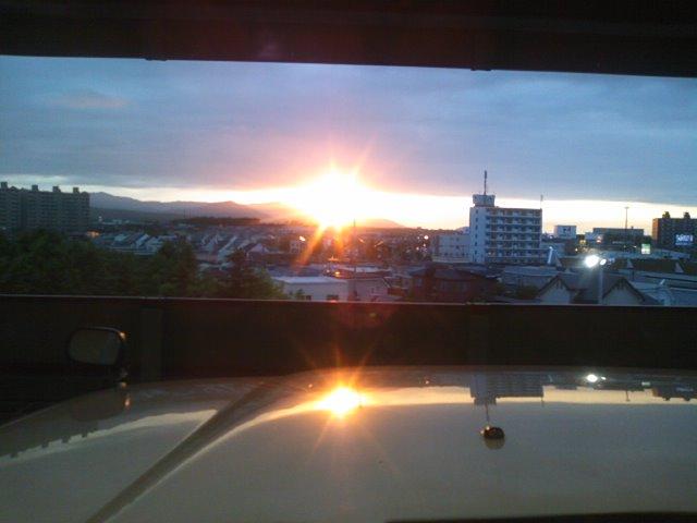 美しが丘の夕日_b0127002_18591882.jpg