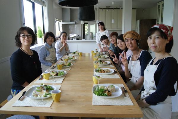 初夏の自家製野菜ランチ_c0125702_1972675.jpg