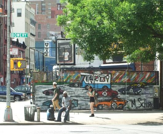 NYのストリートアート密集地、イースト・ビレッジ南端のお散歩風景_b0007805_0334230.jpg