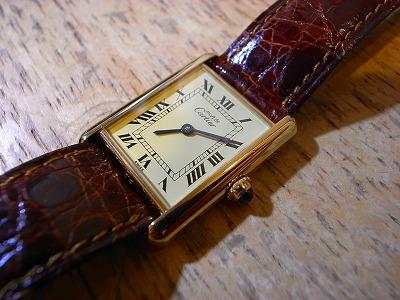 cheap for discount 61cef 6c6cb Cartier カルティエ マストタンク オーバーホール : トライフル ...