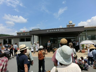 「はじめのいっぽパレード」市役所へ_f0019247_19124498.jpg