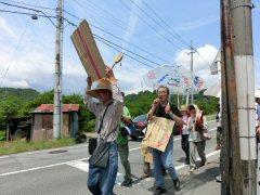 「はじめのいっぽパレード」市役所へ_f0019247_19211683.jpg