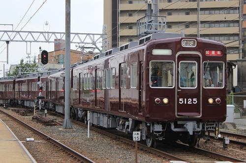 阪急5108F 検査明け試運転_d0202264_18385039.jpg