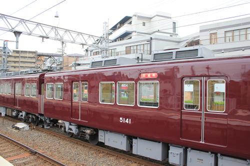 阪急5108F 検査明け試運転_d0202264_18392026.jpg