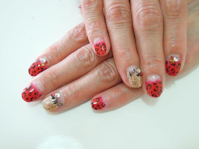 Leopard × Red_a0239065_13355431.jpg