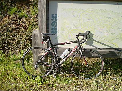 久しぶりの自転車_f0118575_1105757.jpg