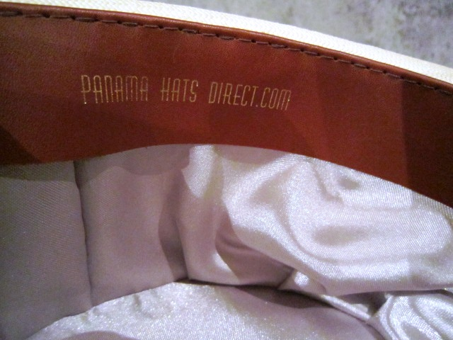 "Used \""Panama Hat\"" ご紹介_f0191324_1005566.jpg"