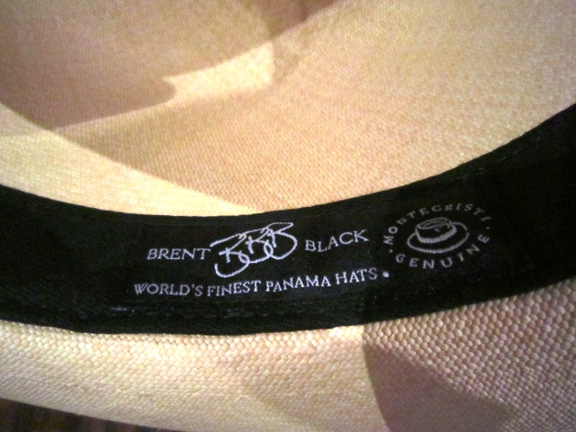 "Used \""Panama Hat\"" ご紹介_f0191324_102136.jpg"