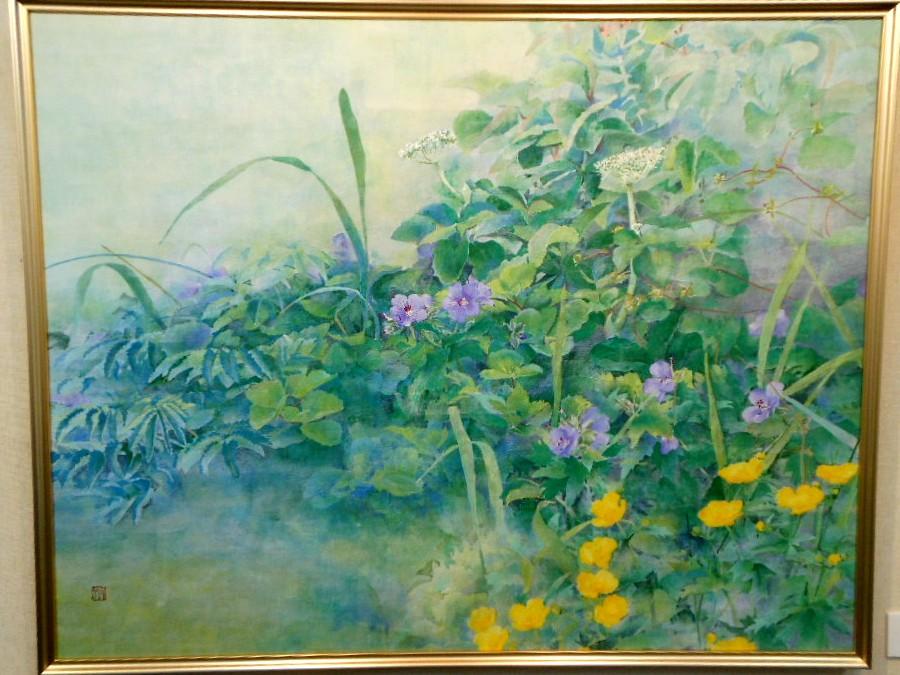 1789)④「北の日本画展 第27回」 時計台 終了5月21日(月)~5月26日(土) _f0126829_0364122.jpg