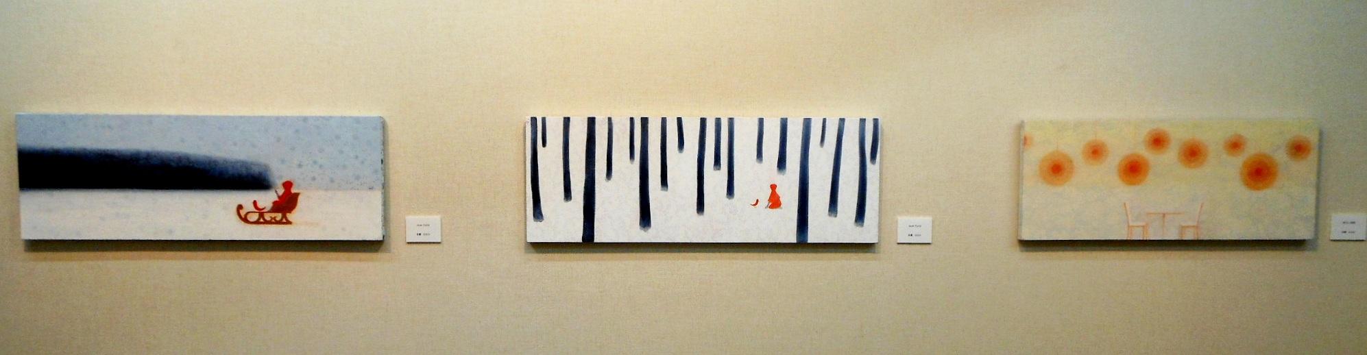 1789)④「北の日本画展 第27回」 時計台 終了5月21日(月)~5月26日(土) _f0126829_185926.jpg