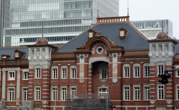 改装中の東京駅_b0093088_1163561.jpg