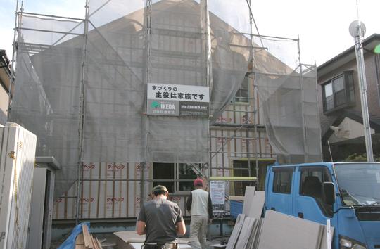 O様邸「南通り築地の家」 工事中です。_f0150893_19381869.jpg