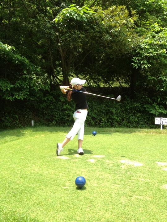 女子ゴルフ♪_f0085810_16375033.jpg