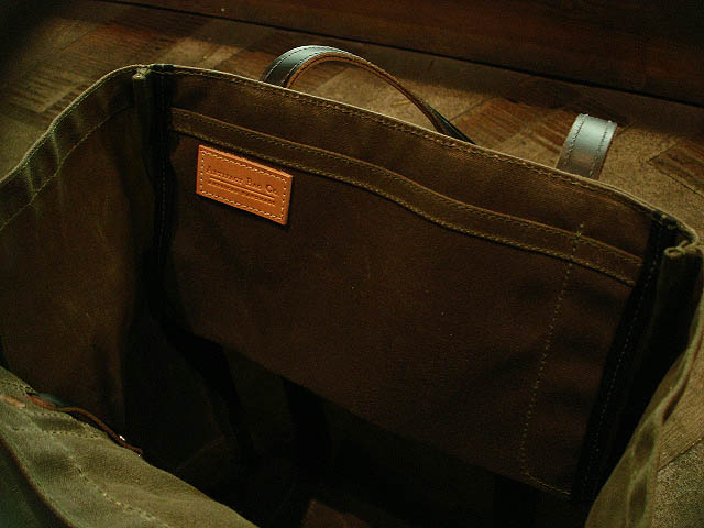 "NEW : ARTIFACT BAG CO. ""Utility Tote\"" Handmade in Omaha, Nebraska!!_a0132147_1511975.jpg"
