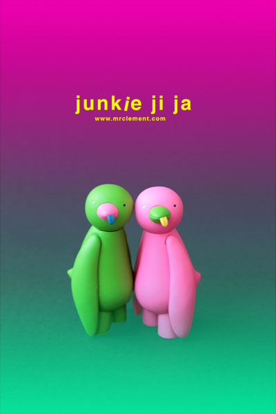 junkie ji ja green and pink by mr clement_e0118156_1893720.jpg