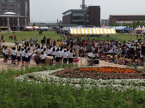 長岡市 花いっぱいフェア_e0266363_171550.jpg