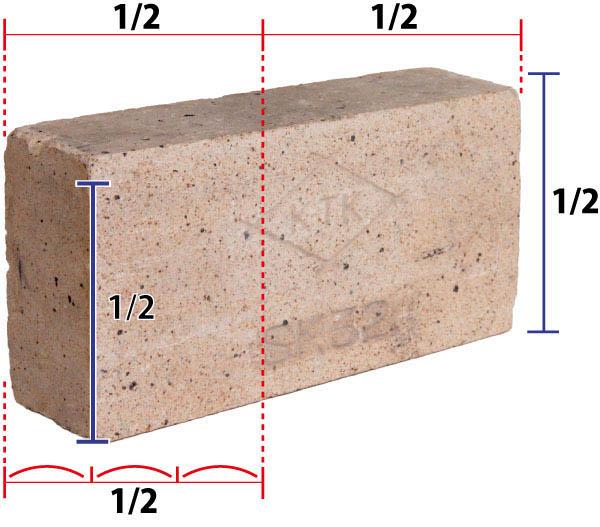 形を正確に再現するーその⑴  レンガ(前半)_f0227963_17502643.jpg