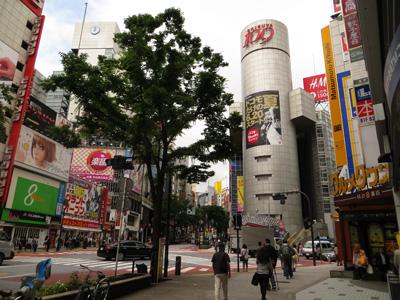 6月13日(水)今日の渋谷109前交差点_b0056983_11503043.jpg