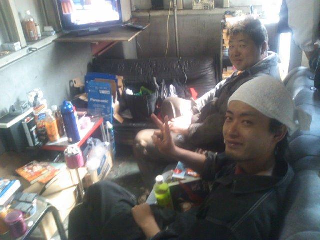 ランクルトミー札幌店(^o^)整備確認_b0127002_1920085.jpg