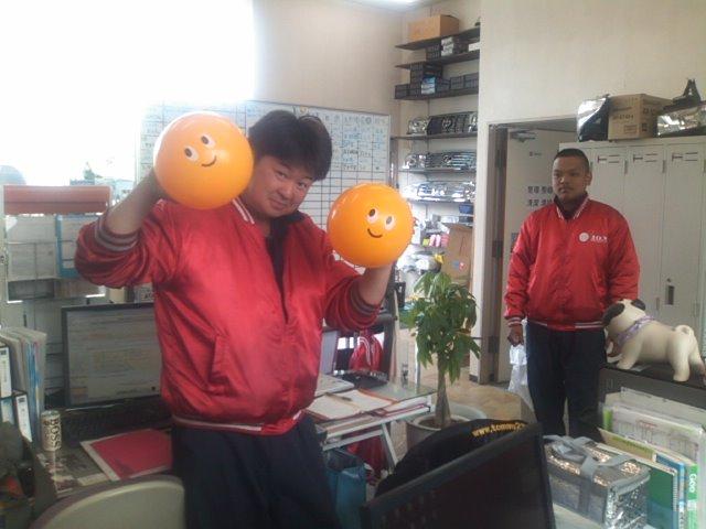 ランクルトミー札幌店(^o^)朝礼&Good&NEW&4S_b0127002_8585741.jpg