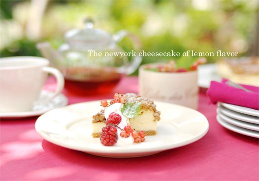 ベリーと、レモンのチーズケーキと。_d0174704_20305114.jpg