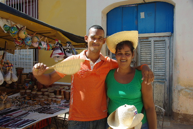 """キューバ (33) トリニダー旧市街の""""みやげ市場"""" その人々_c0011649_23351940.jpg"""