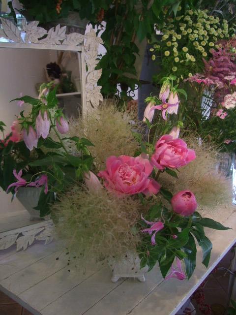 オークリーフ花の教室(山田さんの作品)_f0049672_15333072.jpg