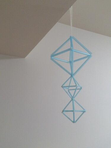 】簡単『モビール』の作り方 ... : いろんな折り紙の作り方 : 折り紙の