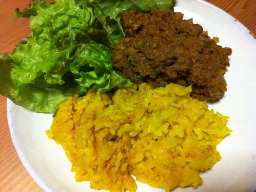 ムング豆のカレーお料理教室_b0057979_2115263.jpg