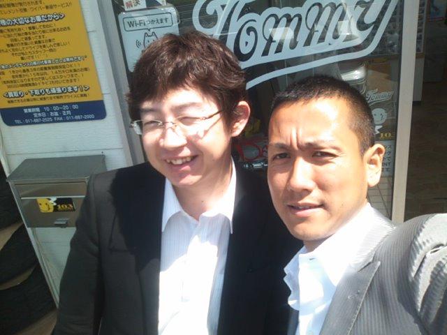 ランクルトミー札幌店(^o^)行政書士八重樫先生!_b0127002_10293272.jpg