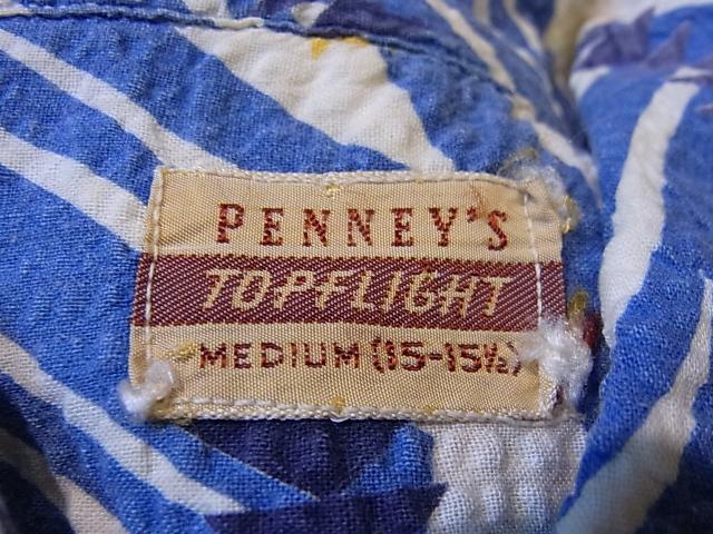 6/16(土)入荷商品!50'S PENNY'S シア・サッカーシャツ!_c0144020_1359484.jpg
