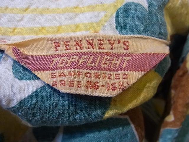 6/16(土)入荷商品!50'S PENNY'S シア・サッカーシャツ!_c0144020_1595092.jpg