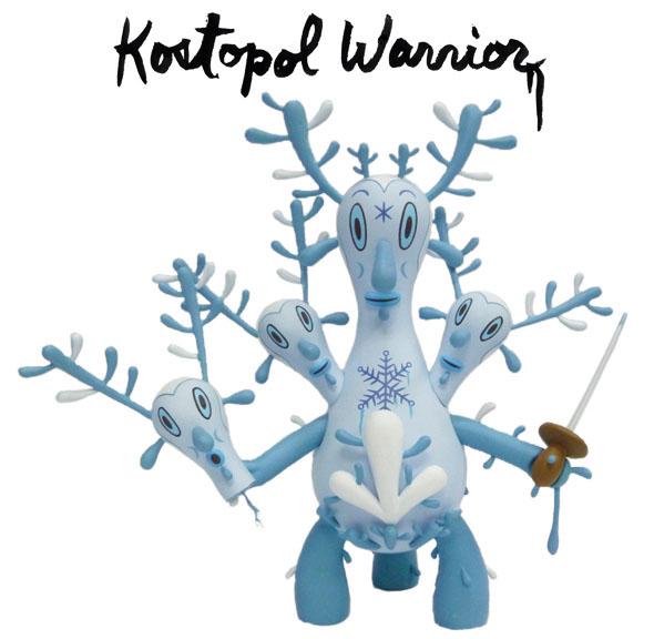 納涼カラーの第2弾、Kostopol Warrior_a0077842_04316.jpg