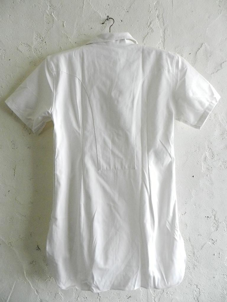 Italian marine white pull over shirts dead stock_f0226051_12172220.jpg