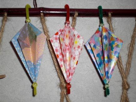 クリスマス 折り紙:折り紙 傘 折り方-origaosiba.exblog.jp