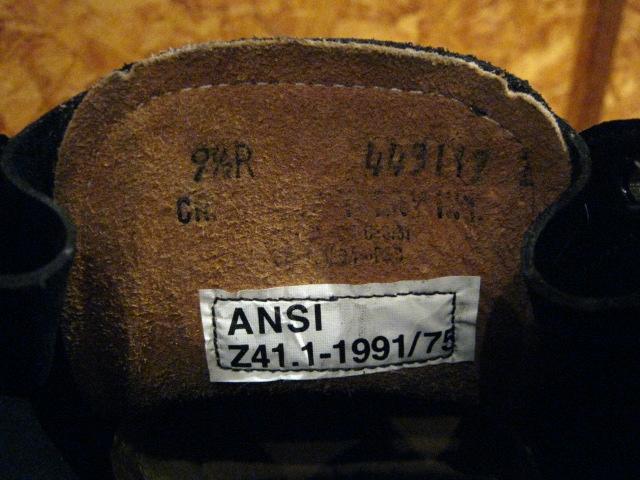 CRADDOCK-TERRY U.S NAVY  SAFETY CHUKKA BOOTS_b0121563_15531830.jpg