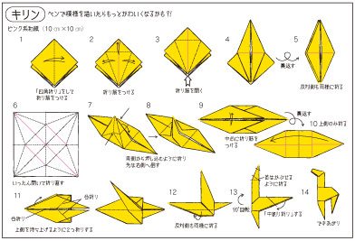 簡単 折り紙 折り紙 キリン : artclub2.exblog.jp